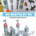 Bastelbogen Ritterburg