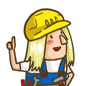 Bauarbeiterin Tina