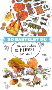 Bastelbogen Herbst