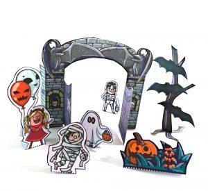 Halloween Detail Tor