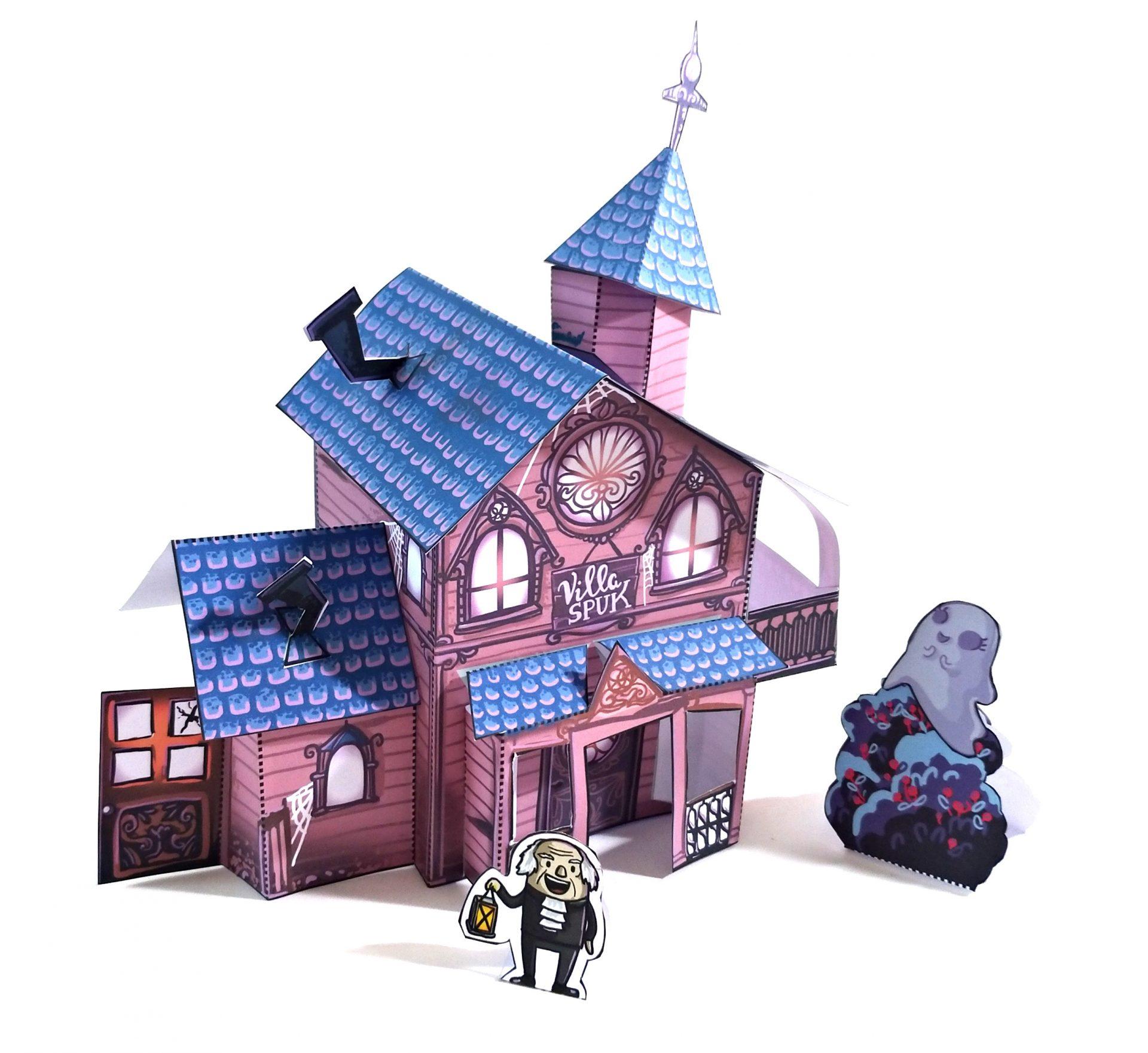 Halloween Detail Villa Spuk