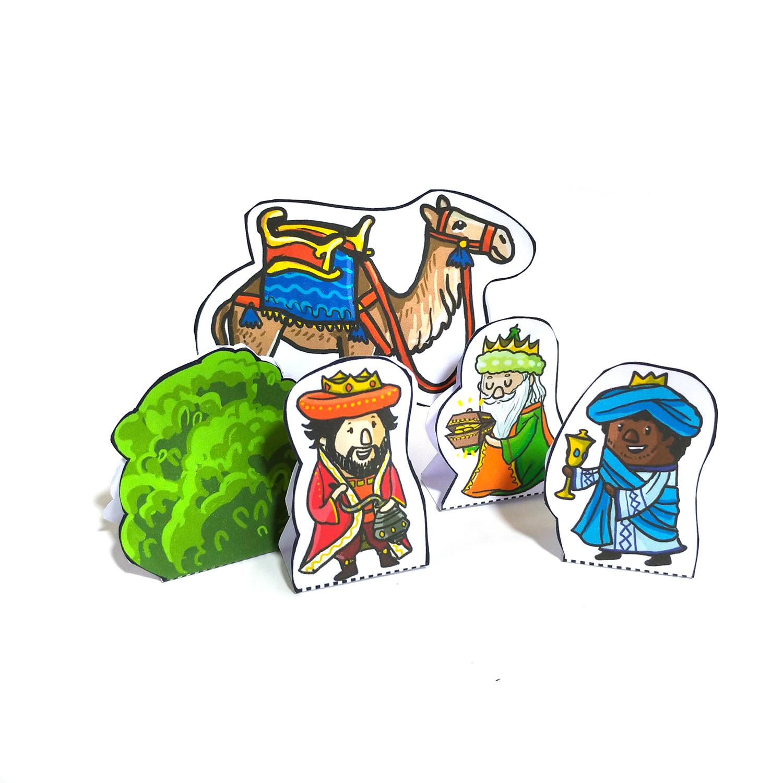 Weihnachtskrippe Heilige 3 Könige 2